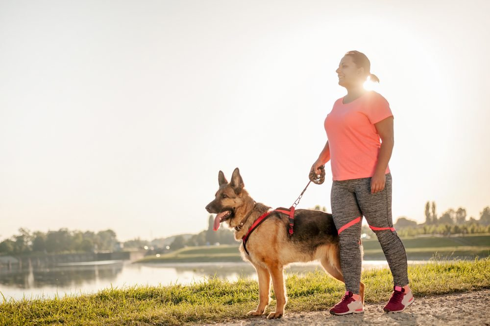 kick-start your weight loss_walking dog