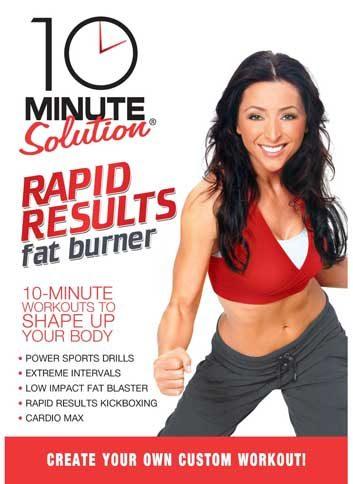 10 minute solution rapid results fat burner