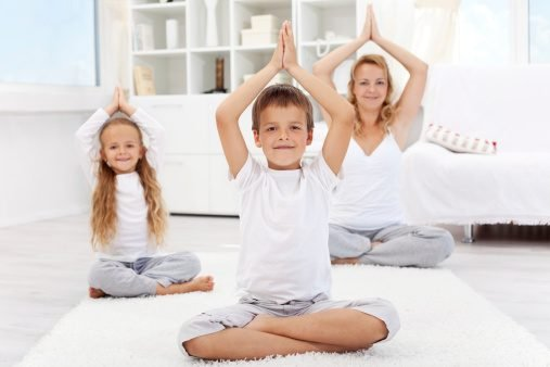 Yoga boosts confidence in kids