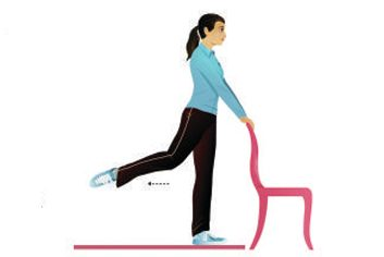 standing ballet extensions