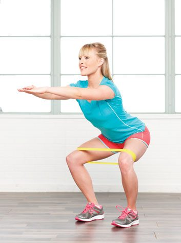Hip-opener squats: 2 minutes