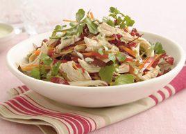 Chicken and beet salad