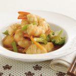 Seafood and vegetable stir-fry