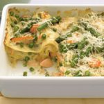 Salmon and Asparagus Lasagna