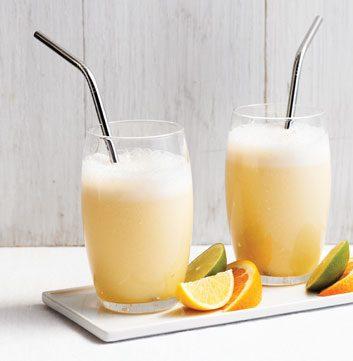 Mandel-Orangen-Smoothie