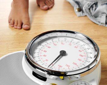 scale weight BMI diet