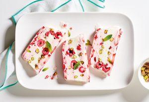 Yogurt and Berry Terrine