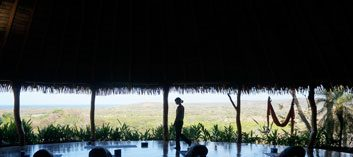 The destination: The Goddess Garden Eco-Resort in Cahuita, Costa Rica
