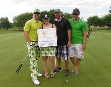 Birdies for Brain Tumours