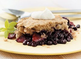 Maritime Blueberry Apple Cobbler