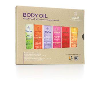 Weleda oils