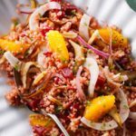 Bulgur, Orange & Beet Salad