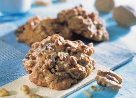 Walnut Breakfast and Snack Cookies