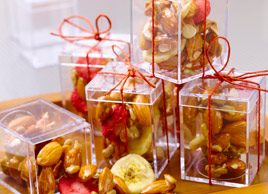 Caramelized Ginger and Almond Snack Mix