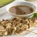 Chicken Satays with Thai Dipping Sauce