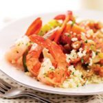 Shrimp & Feta Couscous