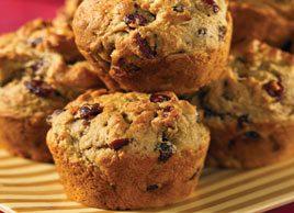 Cranberry Pistachio Muffins
