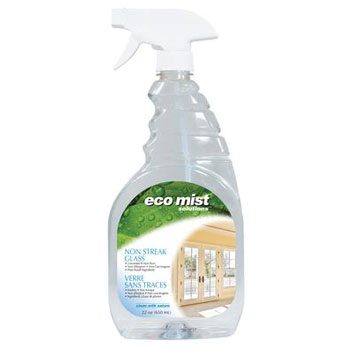 Eco mist glass cleaner