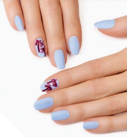 DIY nail art: Tropical palm trees
