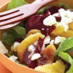Orange, Roasted Beet, and Arugula Salad
