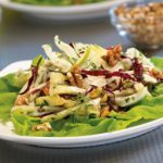 Fennel, Apple and Radicchio Salad with Walnuts