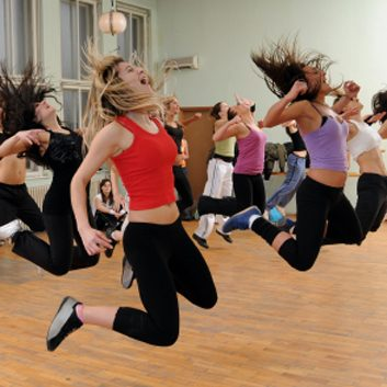 Fitness/ dance hybrid classes