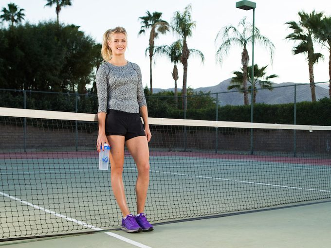 Eugenie Bouchard on Training, Recovery and Getting Revenge on the Court
