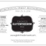 Event: GlutenFreedom Week launches in Toronto