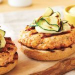 Grilled-Salmon-Burgers-with-Wasabi-Mayo-