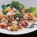 Feta and orange tabouli