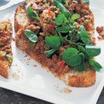 Sardine and pepper toast