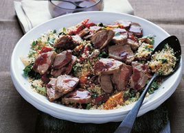 Moroccan lamb and couscous salad