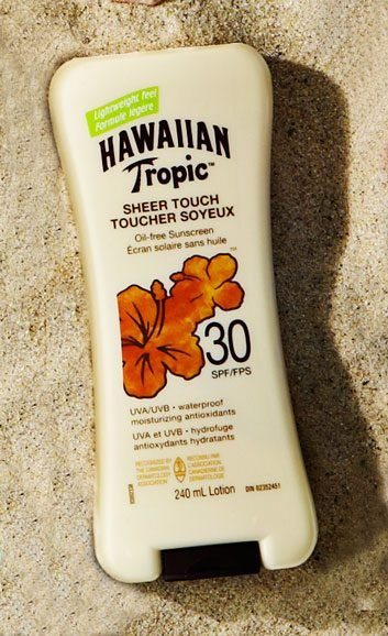 Hawaiian Tropic Sheer Touch Oil-Free Sunscreen SPF 30