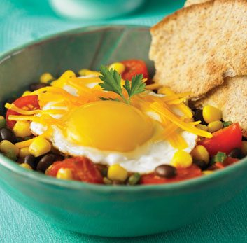 Hearty Tex-Mex Brunch Eggs