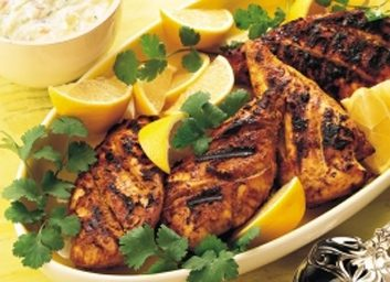 Indian-style grilled chicken