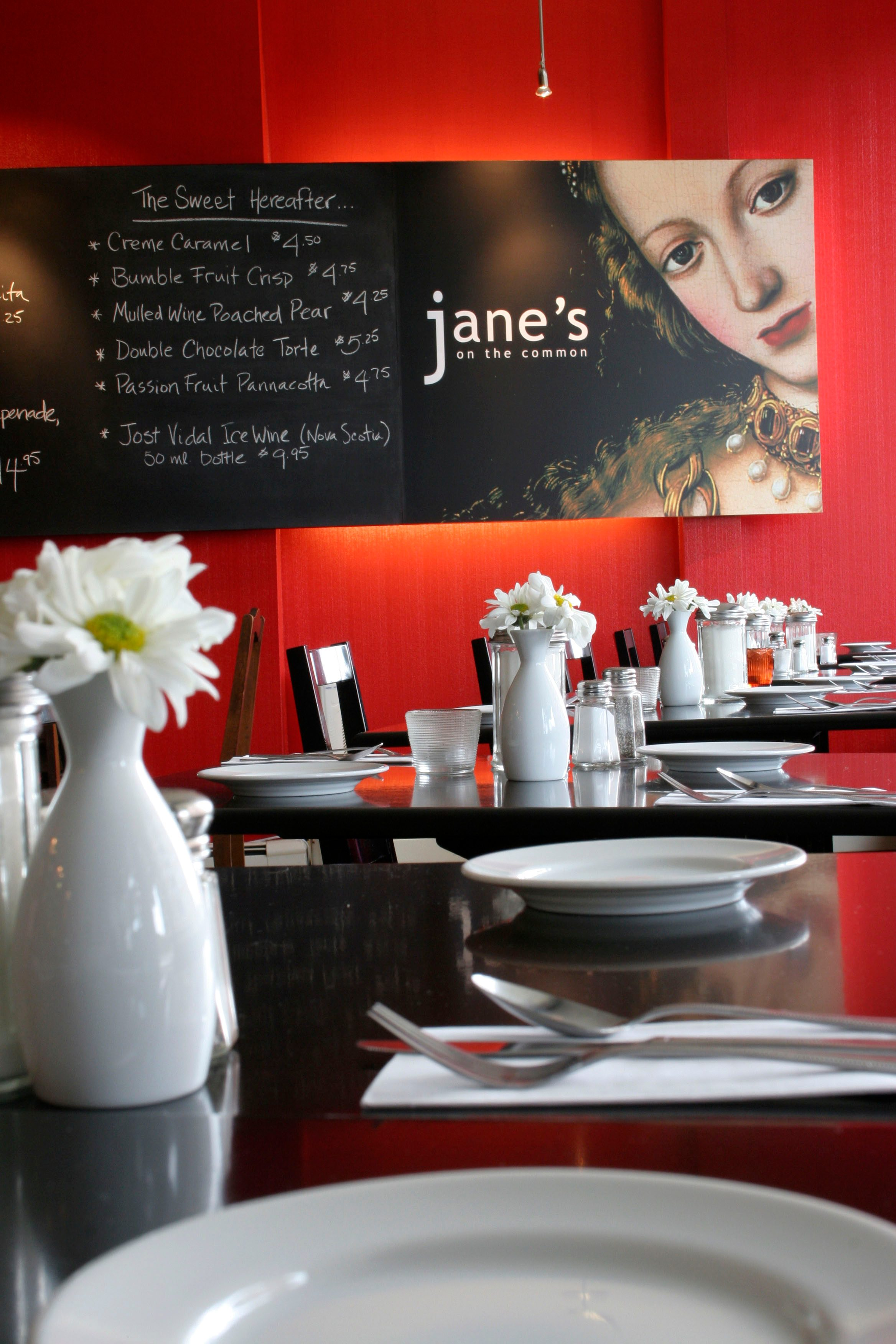 Canada's healthiest restaurants: Jane's on the Common