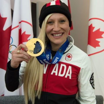 Q&A with Olympian Kaillie Humphries