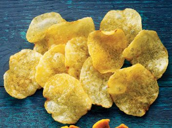 Kettle-cooked potato chips