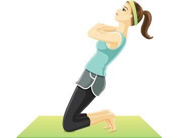 Kneeling Quad Stretch