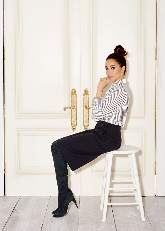 Style tips from suits star meghan markle for The model apartment play