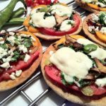 Meatless Monday: Toaster-Oven Gourmet Pizzas