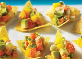 Mango-Spiked Salmon Ceviche