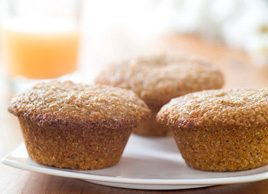 Grapefruit-Glazed Bran Muffins