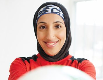 Breaking barriers: Canadian-Muslim women and fitness