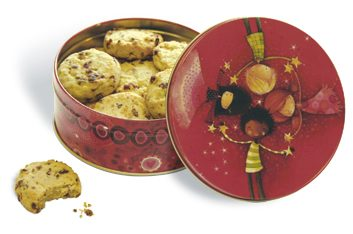 NBC cookie tins