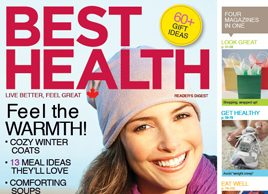 Best Health Magazine: November/December 2010