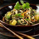 Soba Noodle Vegetable Salad