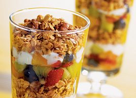 Nutty Breakfast Parfait