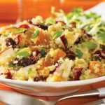 Nutty and Fruity Quinoa Salad with Maple Vinaigrette