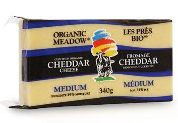 Organic Meadow Medium Cheddar
